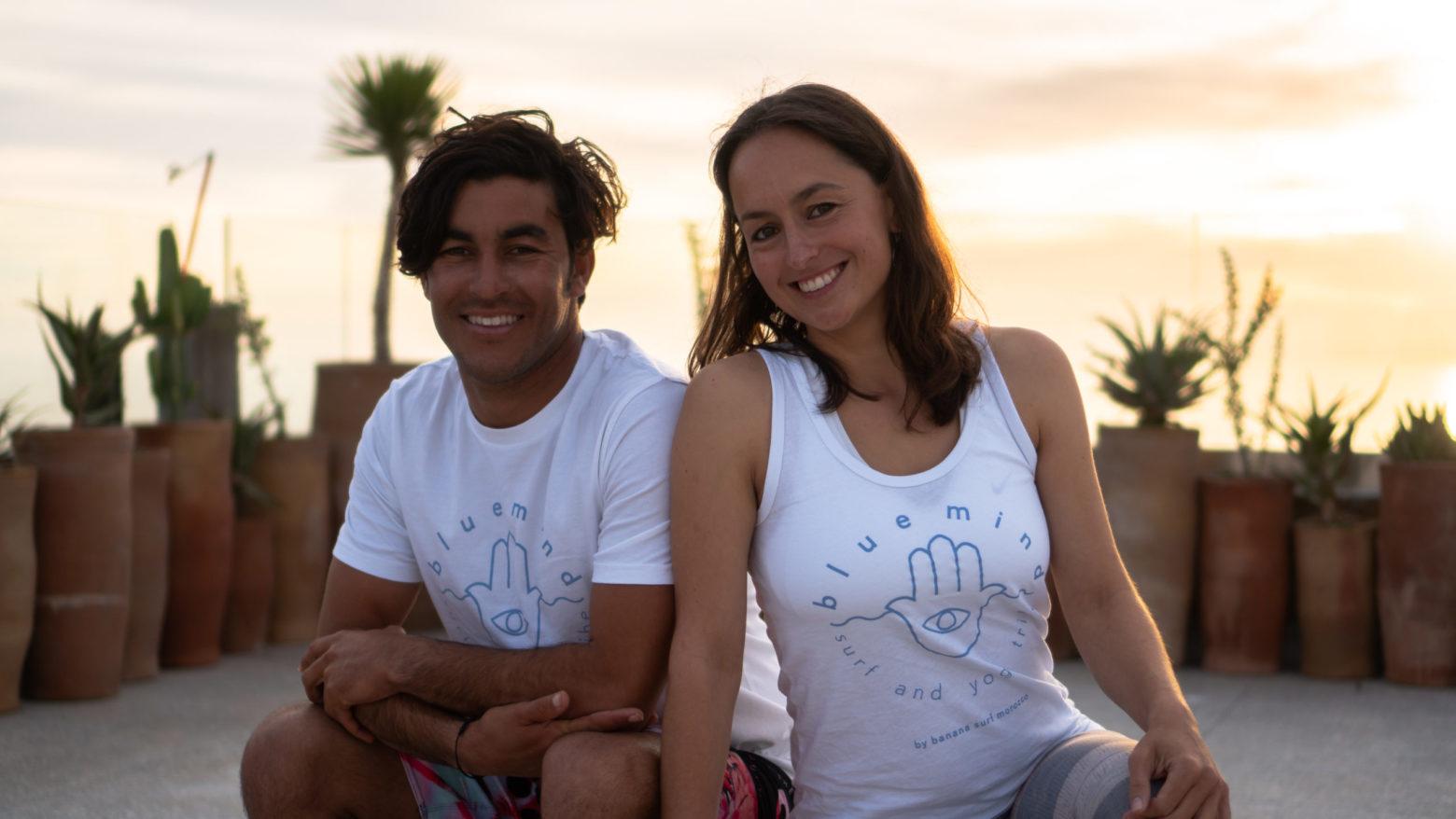 Sandra & Khalid Blue Mind Morocco