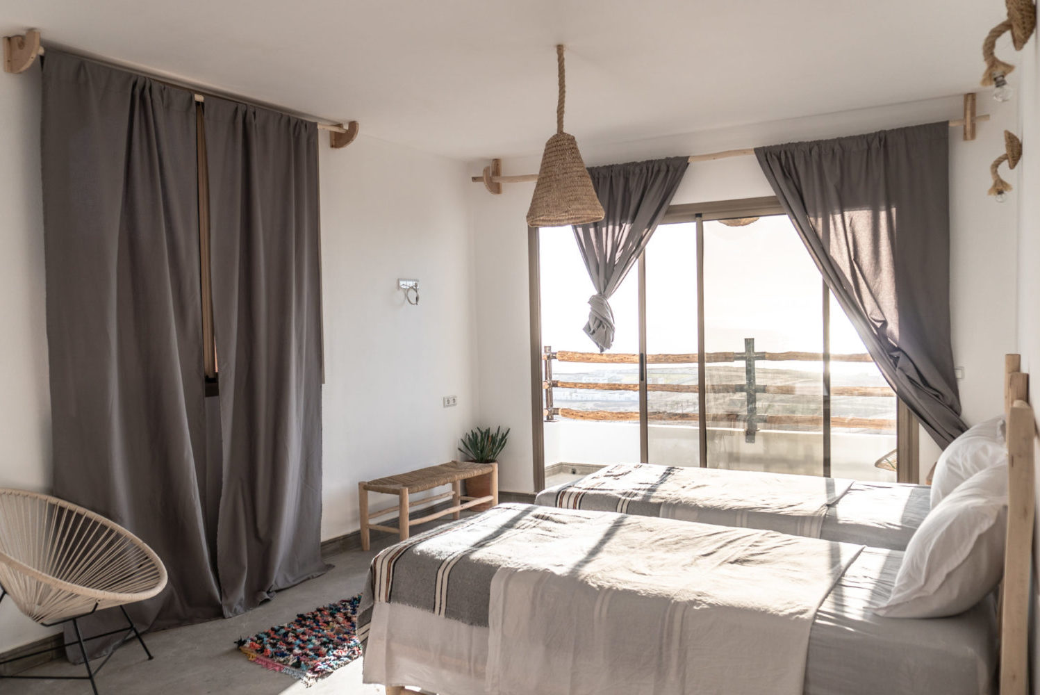 Bed breakfast Taghazout bay Tamraght Blue Mind Morocco