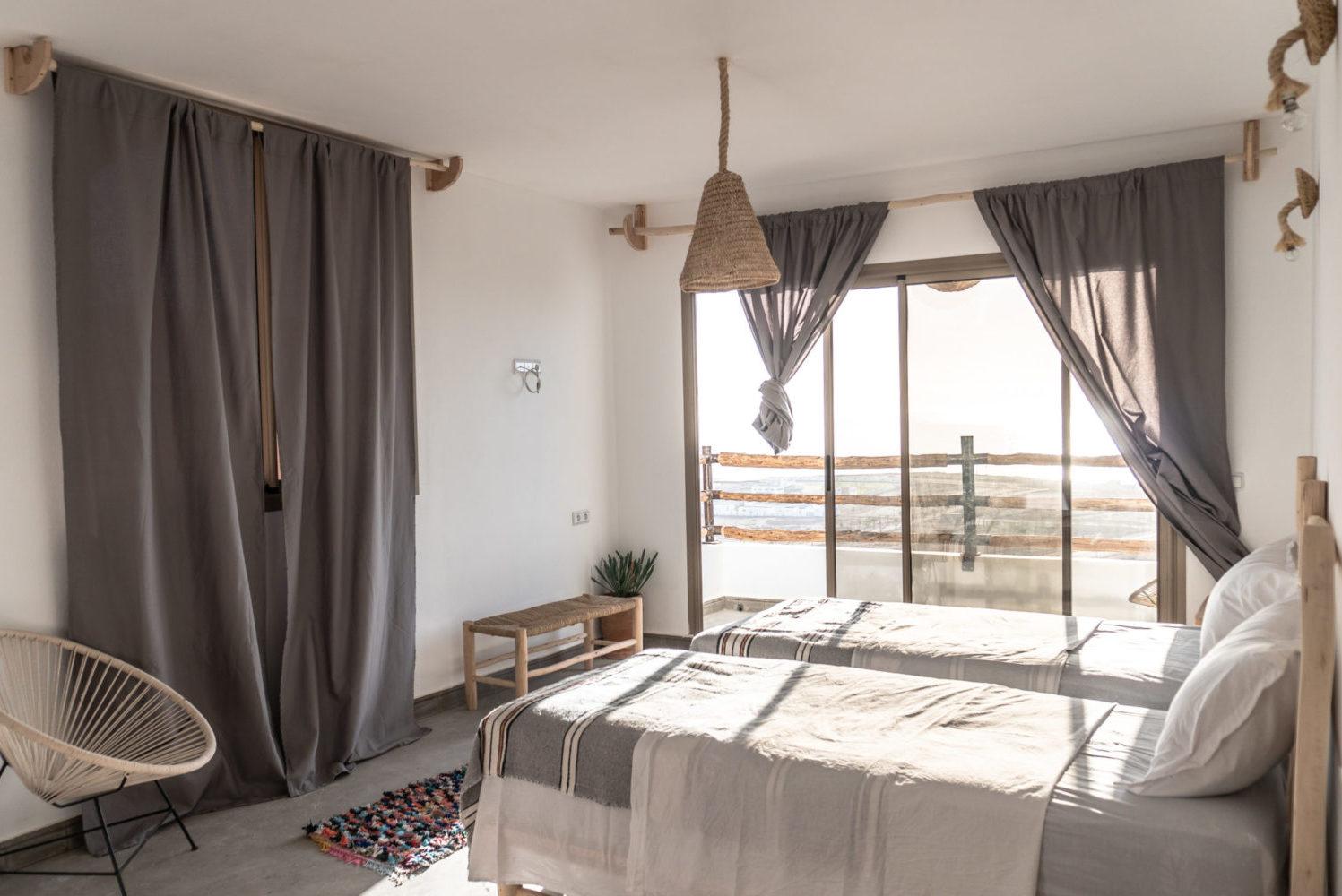 Maison d'hotes Taghazout bay Tamraght Blue Mind Morocco