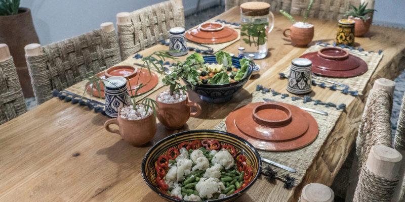 Homemade Cuisine Blue Mind Morocco