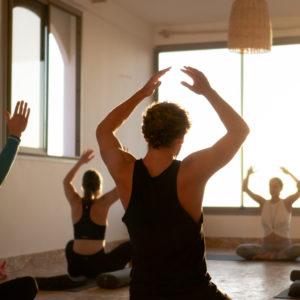 Surf Coaching Yoga Blue Mind Morocco