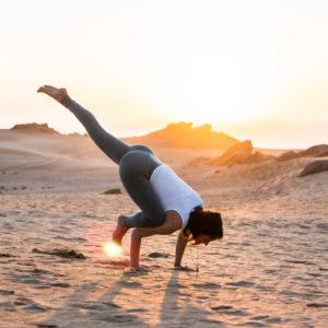 Yoga studio Taghazout Blue Mind Morocco