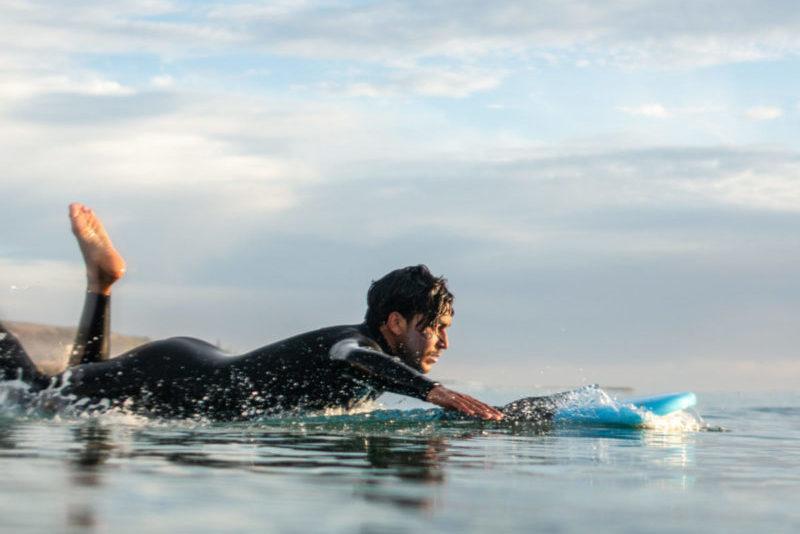 Head surf coach Khalid Tissali